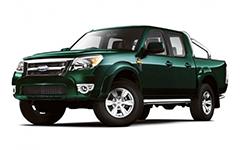 Ford Ranger 2-е поколение 2006-2011, ковры в салон
