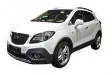 OpelMokka 2012-2016, коврик в багажник