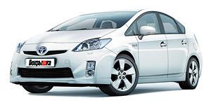 Toyota Prius (ZVW30) 2011 - 2015, автомобильные коврики