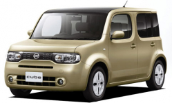 Nissan Cube 3 (Z12) прав. руль 2008 и новее, коврики в авто