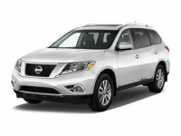 Nissan Pathfinder 4 (R52) 7 мест 2014 и новее, автомобильные коврики