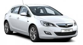 Opel Astra J (хетчбек, седан) 2010 и новее, коврики в салон