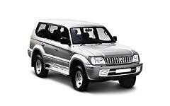 Toyota Land Cruiser Prado 90 1996-2002, коврики в салон