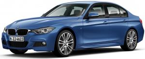 BMW 3 (F30, F31) 2011 - наст. время, коврик в багажник