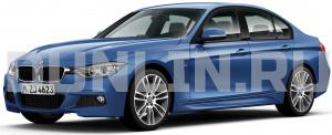 BMW 3 (F30, F31) 2012 и новее, ковры в салон