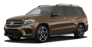 Mercedes GLS-класс (X166) 1-е поколение(5 мест) 2015-2019, автоковрики