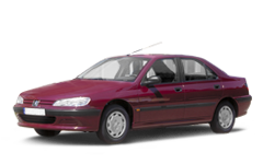 Peugeot 406 1996 - 2004, ковры салонные