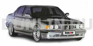 BMW 7(Е32) Long 1986 -1994, коврики в салон