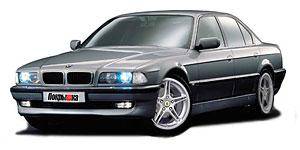 BMW 7 (E38) 1994 - 2001, коврики в салон