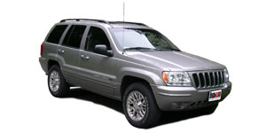 Jeep Grand Cherokee (WJ) 2-е поколение 1998-2004, ковры салонные