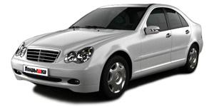 Mercedes C-класс W203 2000 - 2007, ковры в салон