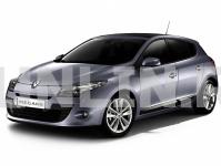 Renault Megane 3 5d седан 2009 и новее, автомобильные коврики