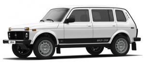 Lada Niva (ВАЗ) 2131 (4x4) 5d 1993 и новее, автомобильные коврики