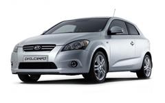 KiaCeed 1-е поколение (рестайлинг) 2010-2012, коврик в багажник