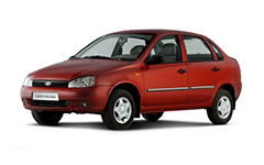 Lada Kalina 1-е поколение 2004-2013, коврик в багажник