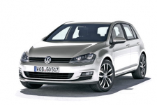 VolkswagenGolf 7 2013 и новее, коврики в салон