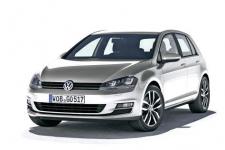 VolkswagenGolf 7-е поколение 2012 и новее, коврик в багажник