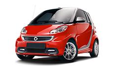 Smart Fortwo (451) 2-е поколение 2007-2015, автомобильные коврики