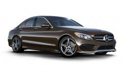 Mercedes С-класс (W205) 4-е поколение 2014 - наст. время, коврик в багажник