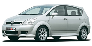 Toyota Corolla Verso 5 мест 2007 - 2009, коврики в салон