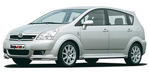 Toyota Corolla Verso (5 мест) 1-е поколение 2007-2009, коврики в салон