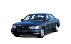 LexusLS 2-е поколение 1994-2000, коврик в багажник