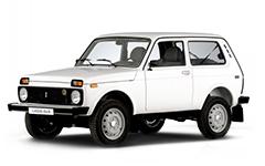 Lada Niva 2121, коврик в багажник