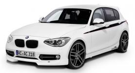 BMW 1 (F20) 2011 и новее, коврики в салон