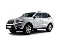 Hyundai Santa Fe 2-е поколение(5 мест) (рестайл) 2009- 2012, автомобильные коврики