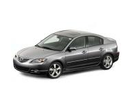 Mazda 3 (BK) (седан) 1-е поколение 2003 - 2009, коврик в багажник