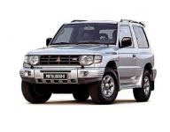 MitsubishiPajero 2 1990 - 2004, коврики в салон
