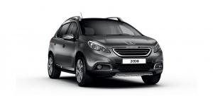 Peugeot 2008 2014 и новее, ковры в салон
