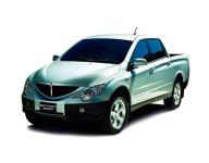 Ssang Yong Actyon Sports 1-е поколение 2006-2012, автомобильные коврики