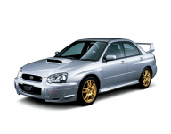 Subaru Impreza 2-е поколение 2002-2007, коврики в салон