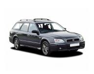 Subaru Legacy 3 1998 - 2003,готовые коврики (черный с черныс кантом)