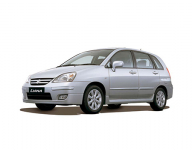 Suzuki Liana 1 (ER) 2001 - 2008, автомобильные коврики