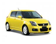 SuzukiSwift3 правый руль 2004-2010, коврики в салон