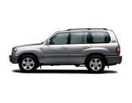 Toyota Land Cruiser 100 1998-2007, коврик в багажник
