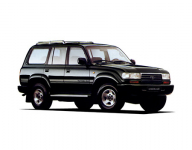 Toyota Land Cruiser 80 1989 - 1997, коврики в салон