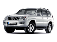 Toyota Land Cruiser Prado 120 2002 - 2009, ковры в салон