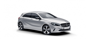 Mercedes A-класс (W176) 2013 и новее, коврики салонные