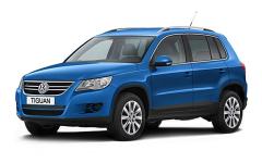 VolkswagenTiguan 1-е поколение 2007-2011, коврики в салон