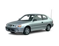 Hyundai Accent 2-е поколение 1999-2012, коврик в багажник
