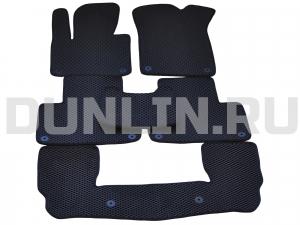 Автомобильные коврики Volvo 2 XC90 7мест
