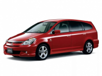 Honda Stream I рестайлинг 2003-2006, автоковрики