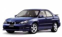 Subaru Impreza 2 GD/GG седан правый руль 2000-2007, коврики