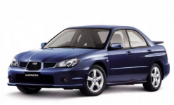 Subaru Impreza II GD/GG седан правый руль 2000-2007, коврики