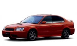 Subaru Legacy III BE/BH/BT правый руль 1998-2003, автоковрики