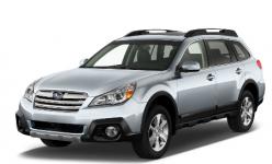 Subaru Outback IV BR 2009-2014, коврики