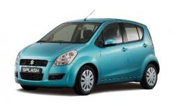 Suzuki Splash 1-е поколение 2008-2015, автоковрики